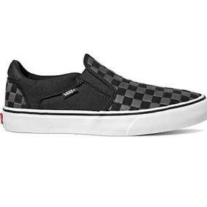 Vans Asher Slip-on Sneakers